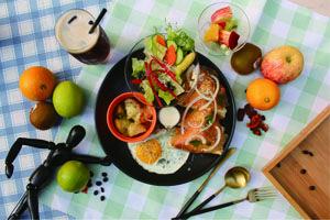 樂享挪威燻鮭魚焗吐司